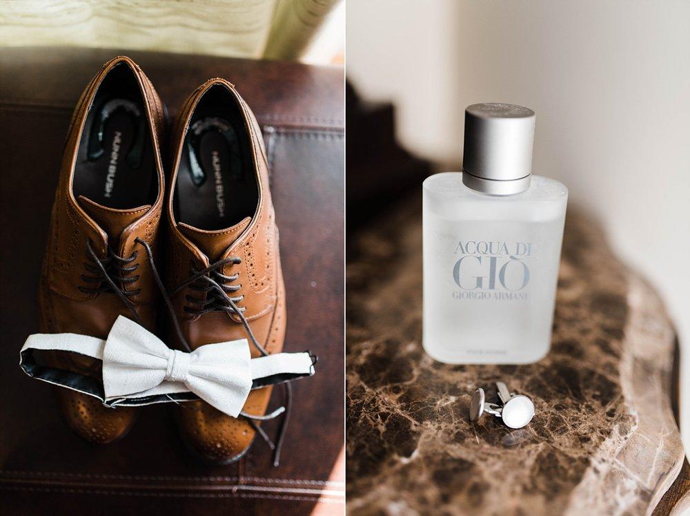 GROOM'S DETAILS| ELEGANT SPRING WEDDING AT THE SONNET HOUSE | TJ & SHELBY | JOHNSON WEDDING