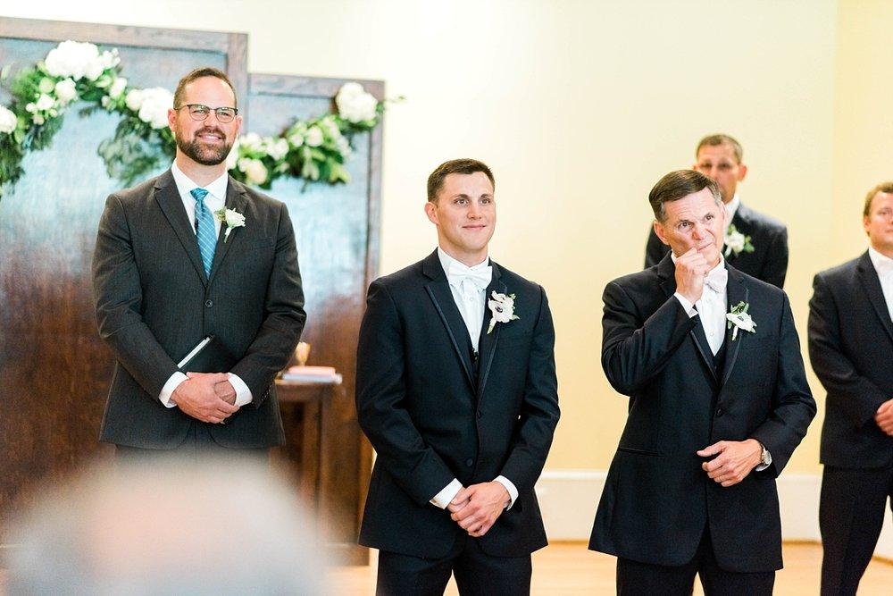INDOOR CHAPEL | ELEGANT SPRING WEDDING AT THE SONNET HOUSE | TJ & SHELBY | JOHNSON WEDDING