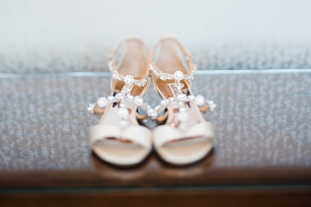BRIDE'S DETAILS | BRIDAL SHOES | THE WESTIN | ADAM AND YASMEEN | A WEDDING AT THE FLORENTINE BUILDING | BIRMINGHAM, AL