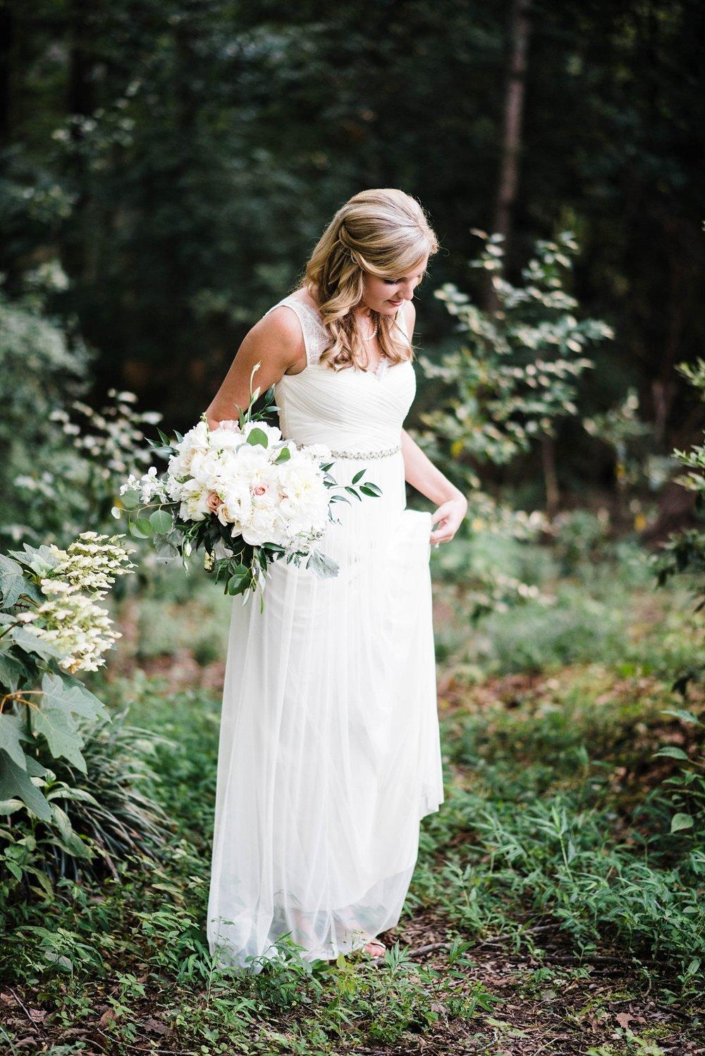AN INTIMATE BACKYARD BIRMINGHAM WEDDING | NATE & MEGAN BUSH | LAURA WILKERSON PHOTOGRAPHY