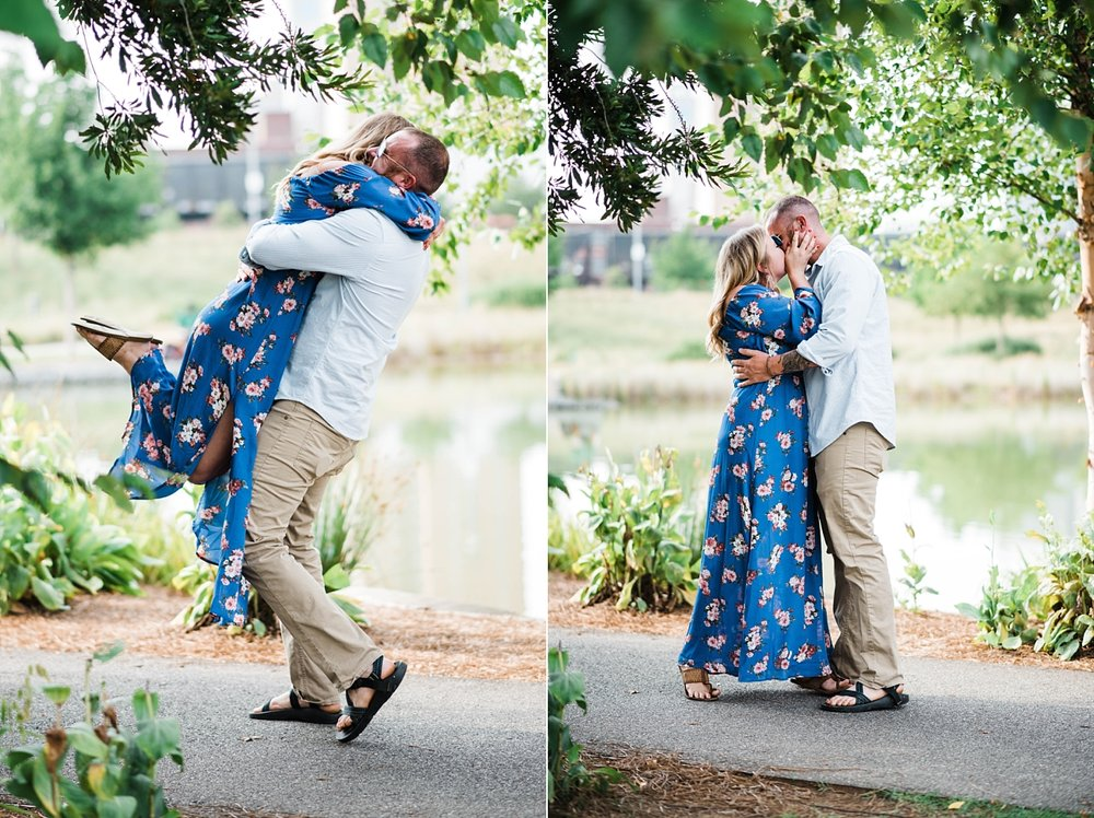 A PROPOSAL AT RAILROAD PARK | MATT & HANNAH | BIRMINGHAM, AL