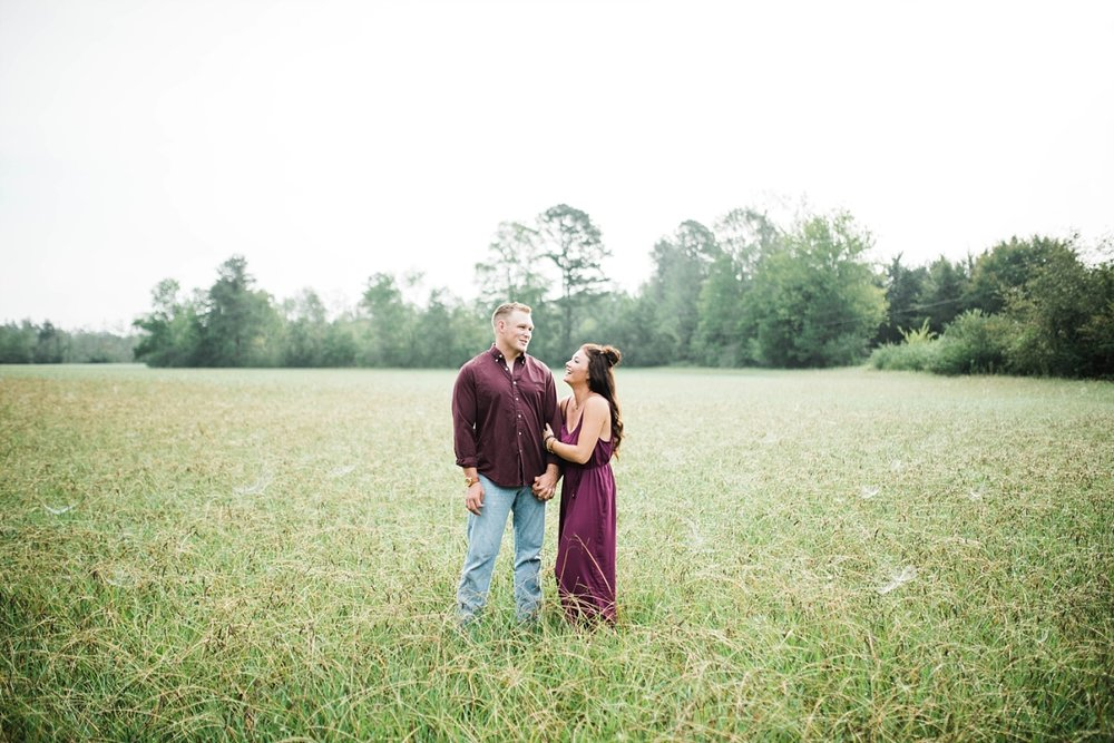 A SUNRISE ENGAGEMENT SESSION IN ALABAMA | BRANDON & BROOKE | FIELD