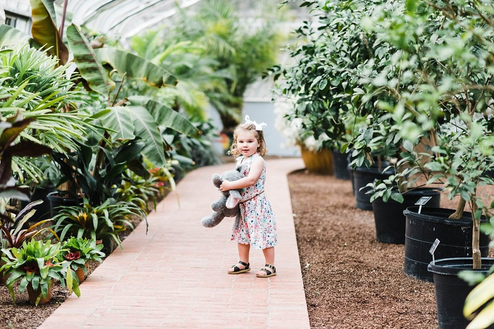 PARISH FAMILY SESSION AT BOTANICAL GARDENS | BIRMINGHAM, AL
