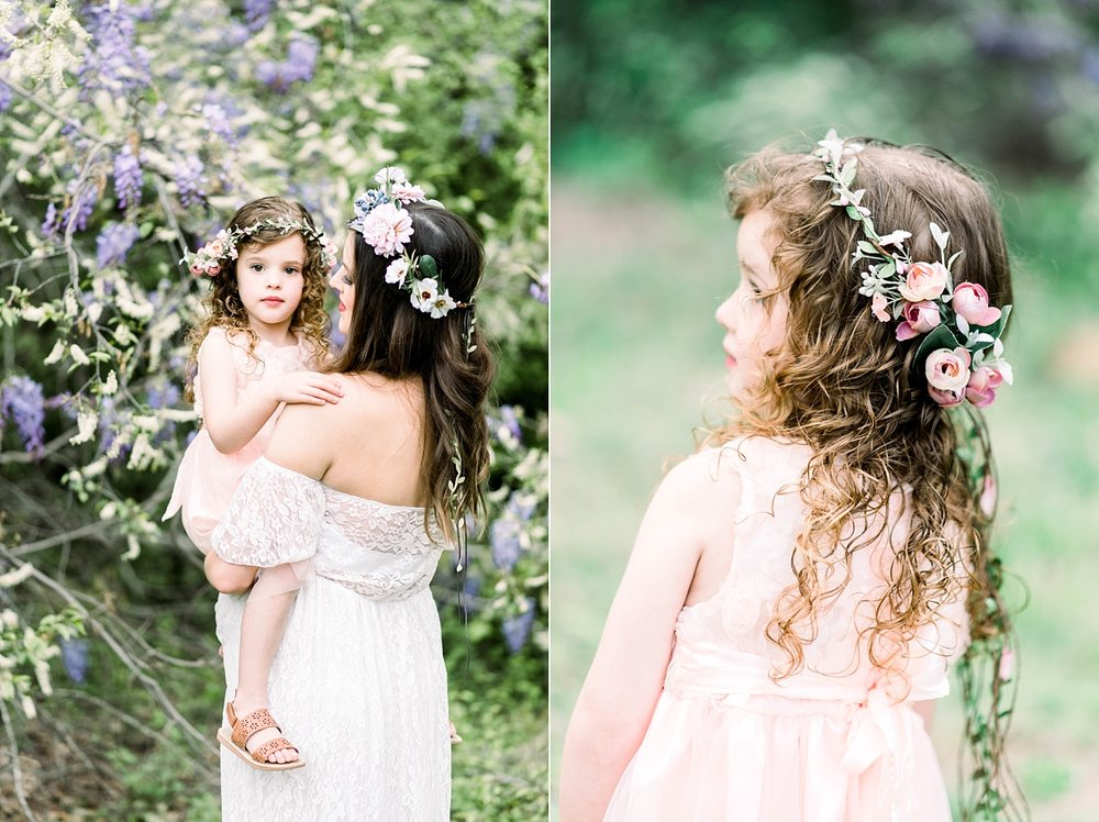 SEABROOK FAMILY | SPRING MATERNITY SESSION WITH WISTERIA | SPRINGVILLE, AL | LAURA WILKERSON PHOTOGRAPHY