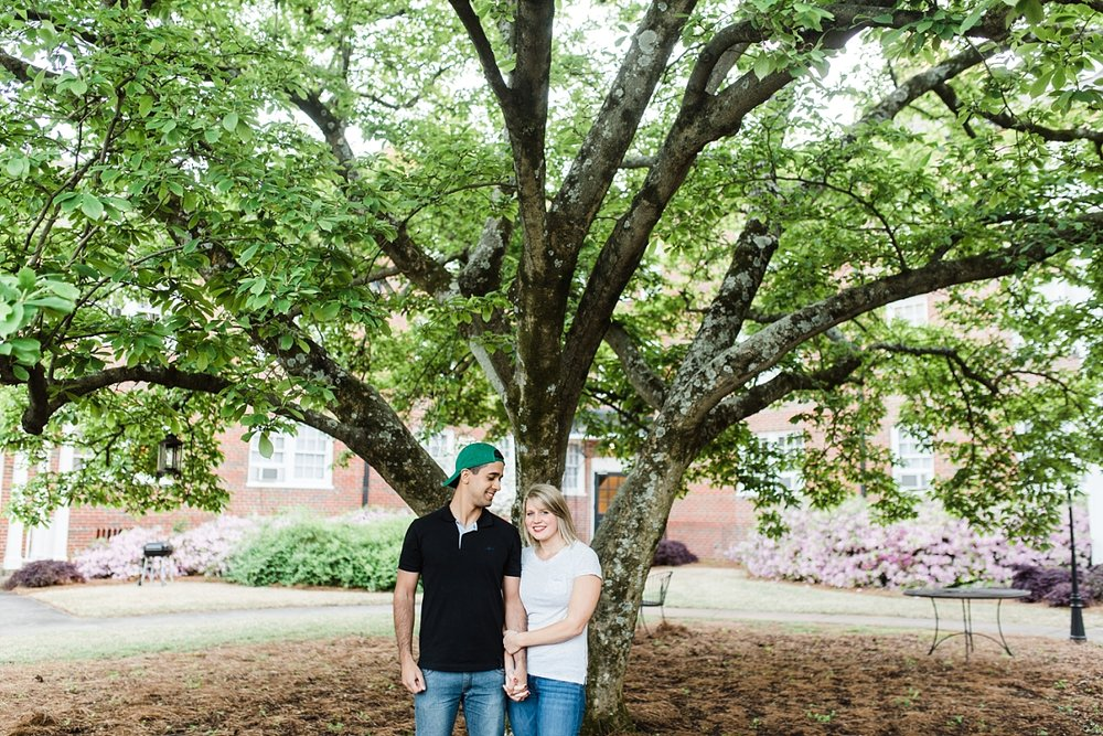 MEREDITH & NICHOLAS | SPRING COUPLE SESSION IN BIRMINGHAM, AL