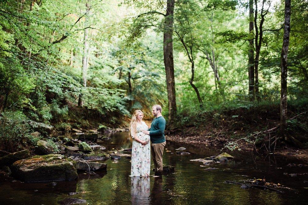JESSICA & HUNTER | MATERNITY SESSION IN SPRINGVILLE, AL