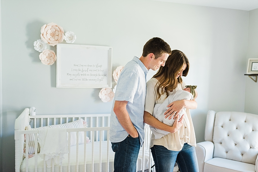 MARTIN FAMILY | NEWBORN LIFESTYLE SESSION IN SPRINGVILLE, AL