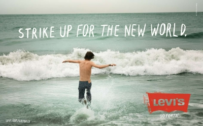 The Levi's brand keeps it relevant from era to era, generation to generation.