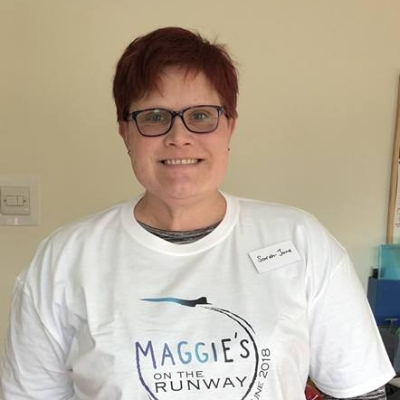 SARAH-JANE MASON  - Pain in her left arm was a sign that something was wrong for Sarah-Jane. Two weeks before her 40th birthday in 2015 she was diagnosed with breast cancer.