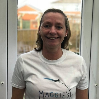 MANDY McCABE - Mandy lost her beloved sister and best friend Susan who had a brain tumour whilst she herself was undergoing treatment for breast cancer.