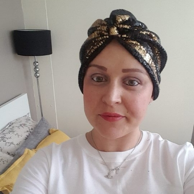 LAUREN RIDGUARD - Lauren is currently having treatment for ovarian cancer which was diagnosed in September last year.
