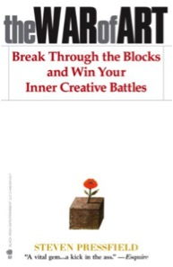 The War of Art – Break Through the Blocks and Win Your Inner Creative Battles, by Steven Pressfield - Don't be fooled by the title. The continuous success of Steven Pressfield's manual for creative people comes from the universal power of the invisible force he dissects. Pressfield calls this force Resistance and its black magic works equally well against the writer and the artist, as well as against the entrepreneur and anyone else trying to move the needle in any area of their life. The War of Art is worth re-reading every a year.