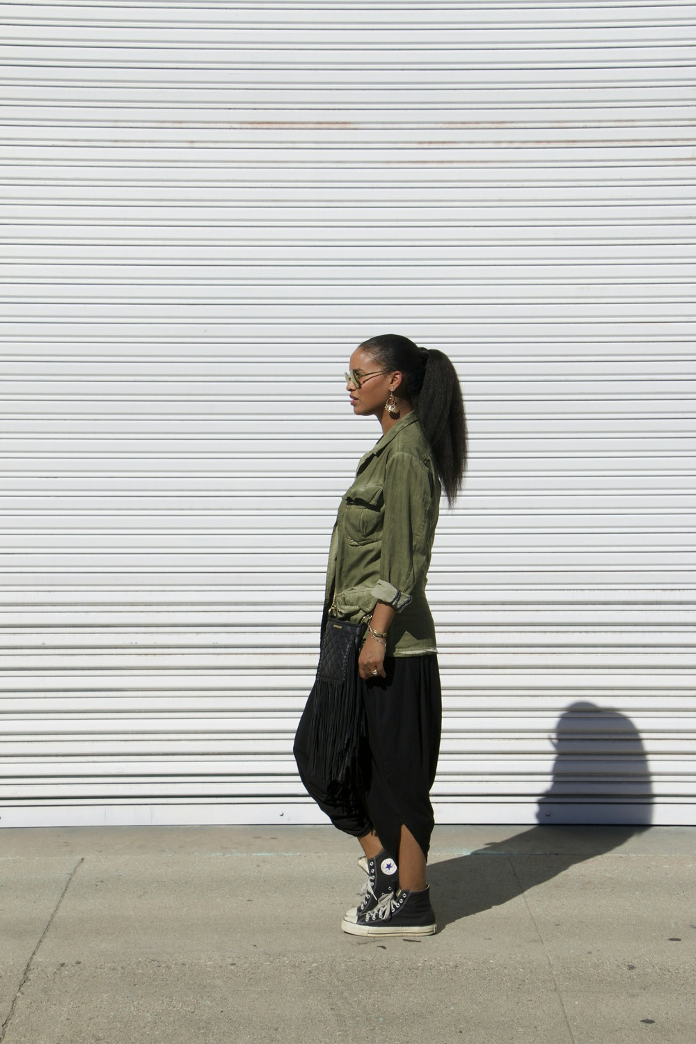 Joy Bryant. Actress. Model. Co-Creator of the lifestyle/ apparel brand, Basic Terrain.              Photo Credit: Kristen Cleary