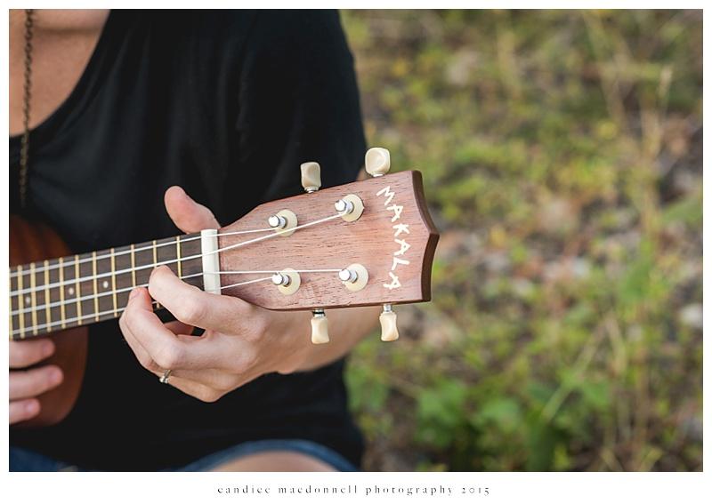 ukelele frets © candice macdonnell photography