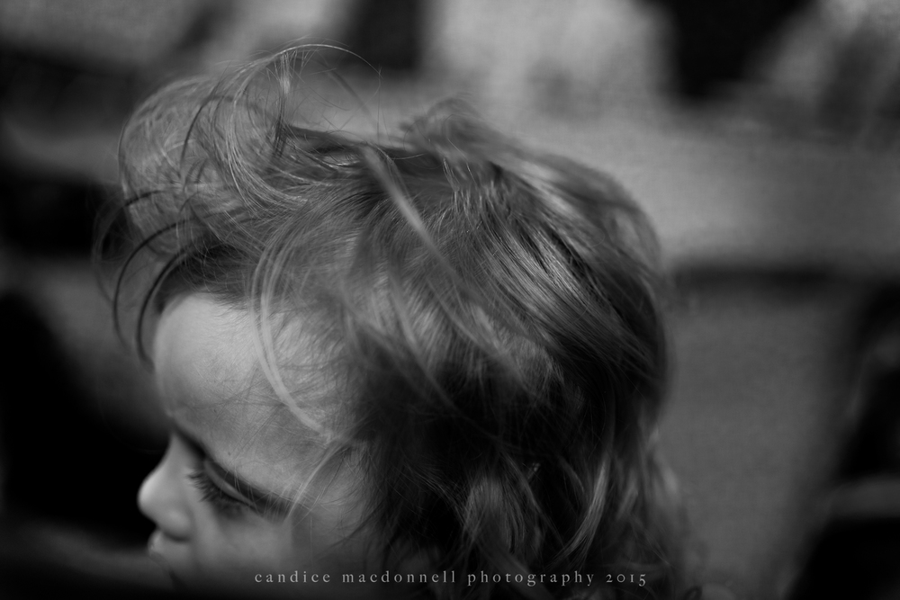 little boy with silly bed head © candice macdonnell 2015
