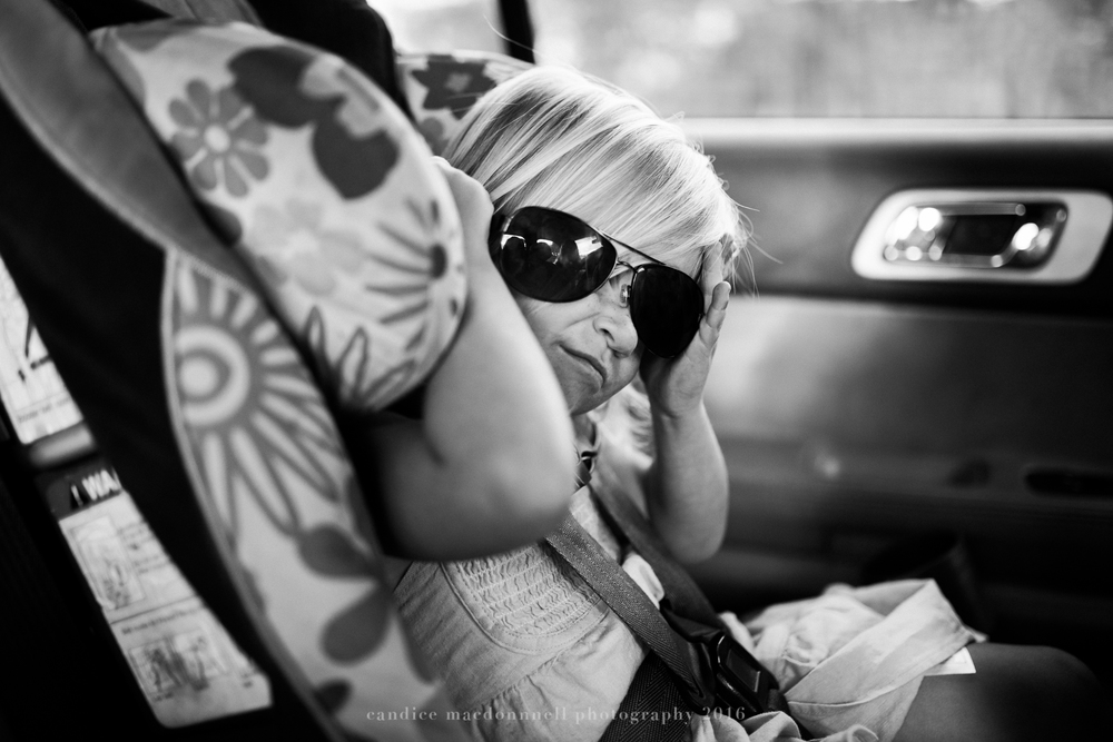 gangster sunglasses in car lifestyle photography by candice macdonnell photography, oahu hawaii documentary photographer