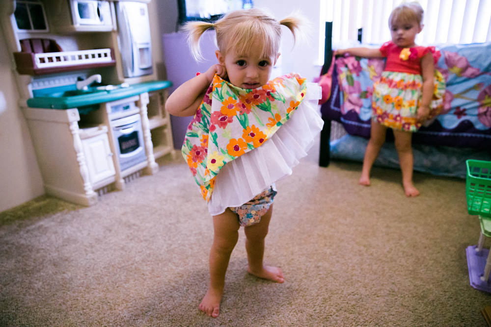 cute girl showing off cloth diaper - candice macdonnell real life photographer