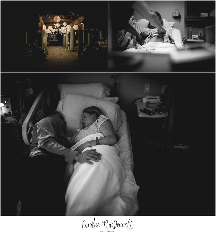 labor at castle hospital birth photographer