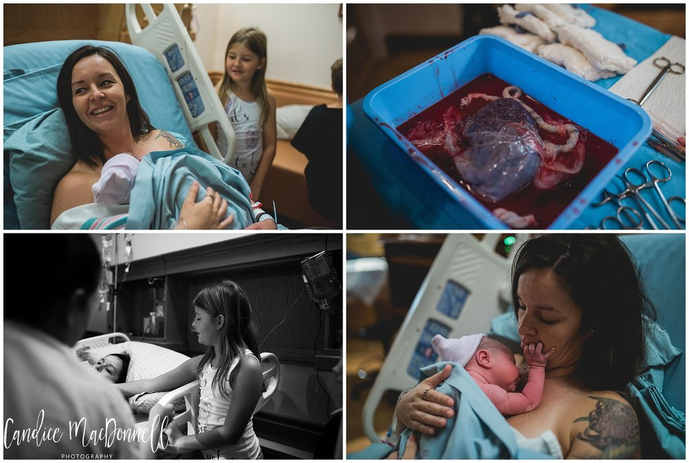 placenta and newborn honolulu birth and family documentary photographer