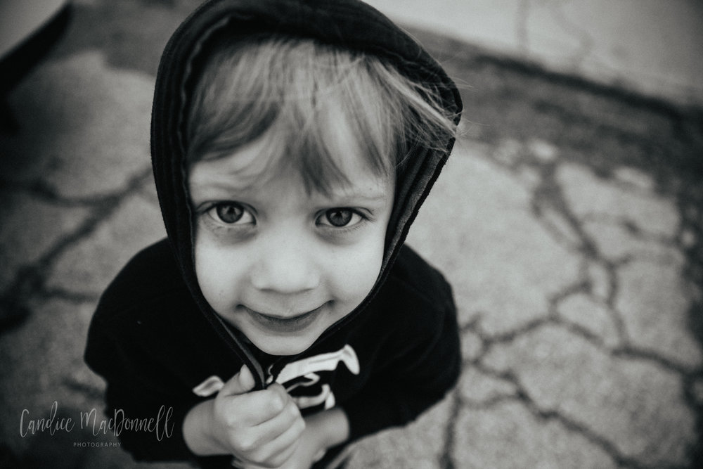 little boy in hoodie, fort leonard wood photographer