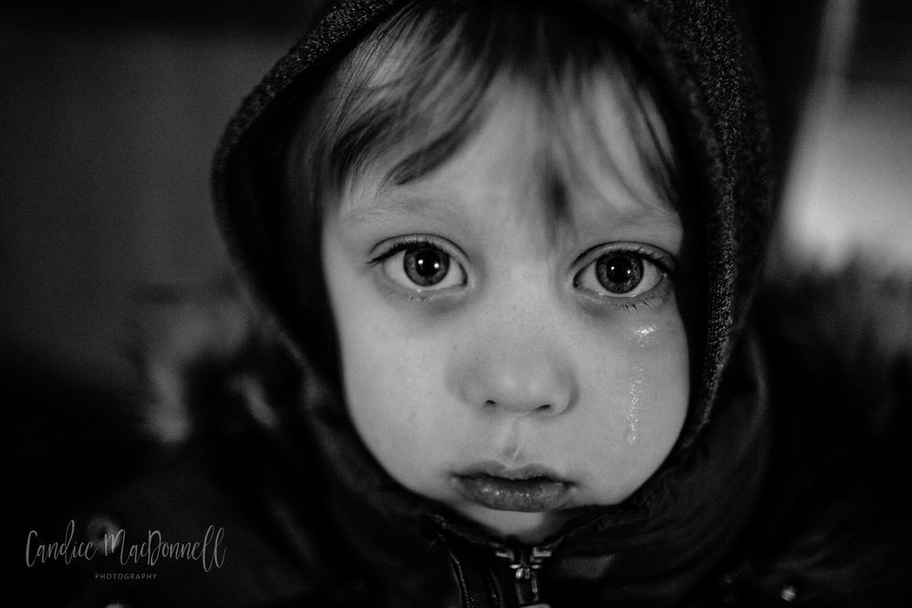 boy crying, missouri family photographer