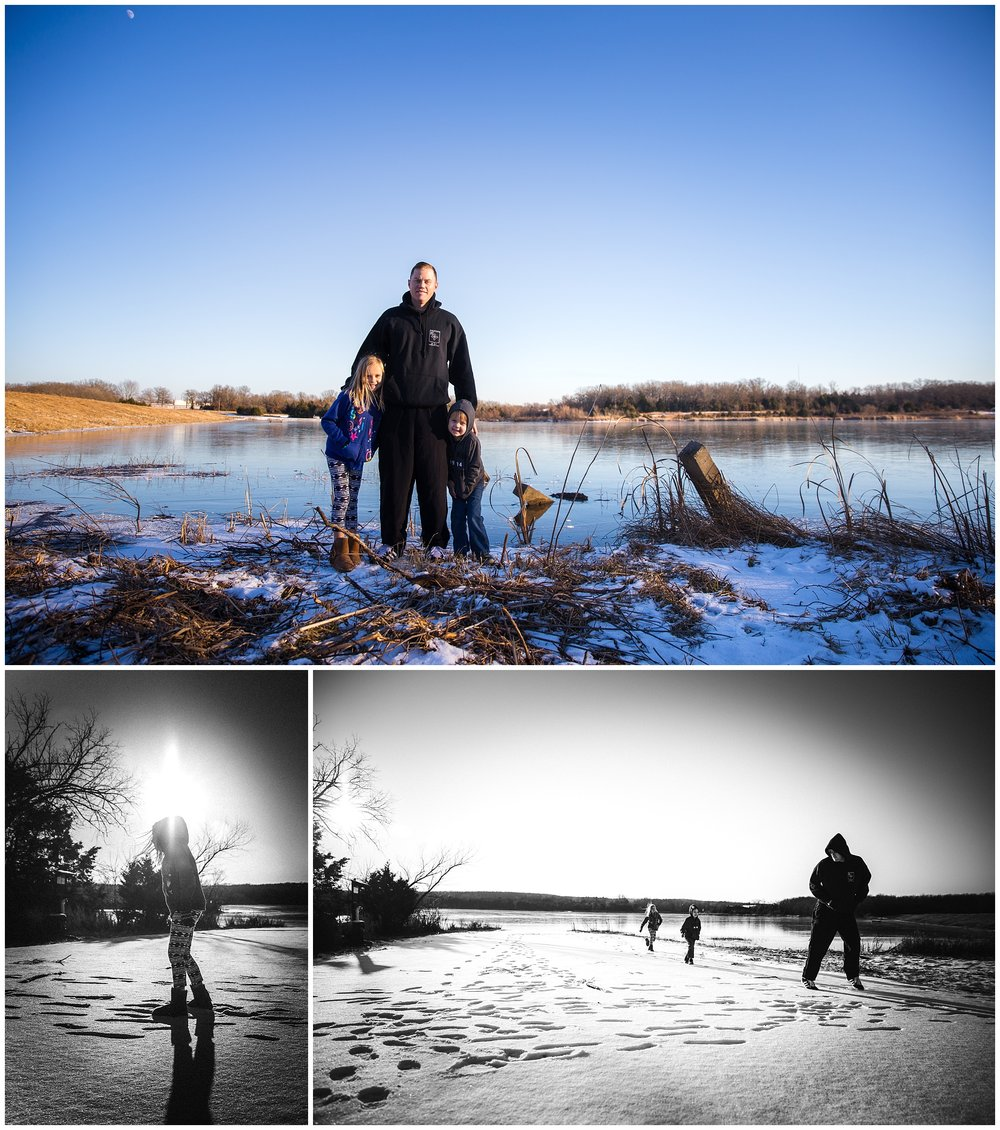 blood lake fort leonard wood family photography