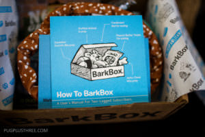 bark box october for medium size dog unboxing