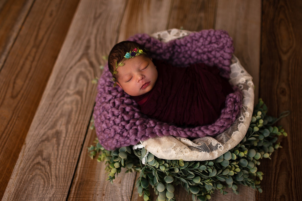 newborn photographer in waynesville Missouri