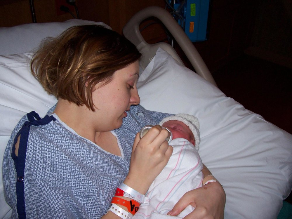 fort leonard wood photographer newborn in hospital