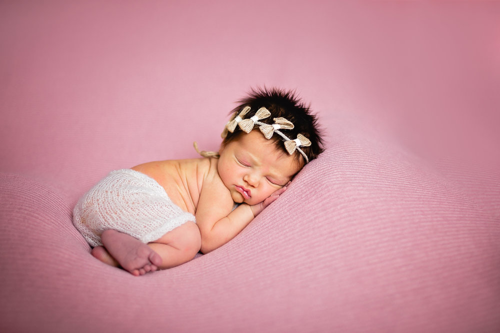 studio newborn photographer waynesville mo