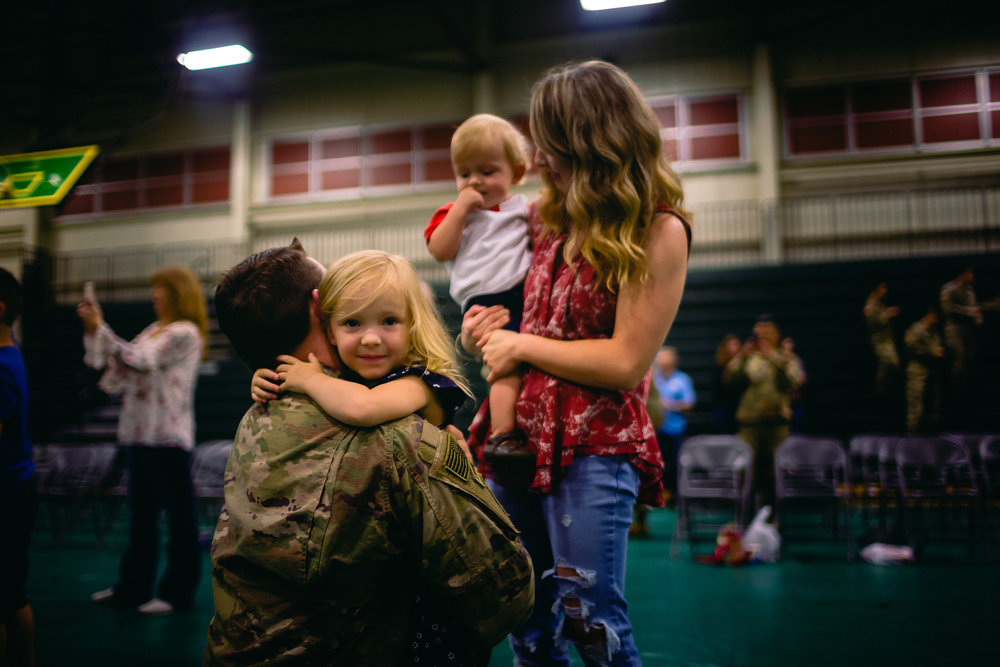 military homecoming fort leonard wood photographer