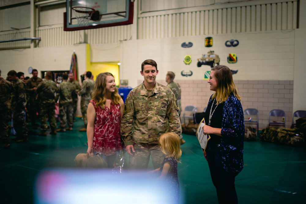 fort leonard wood army deployement photographer