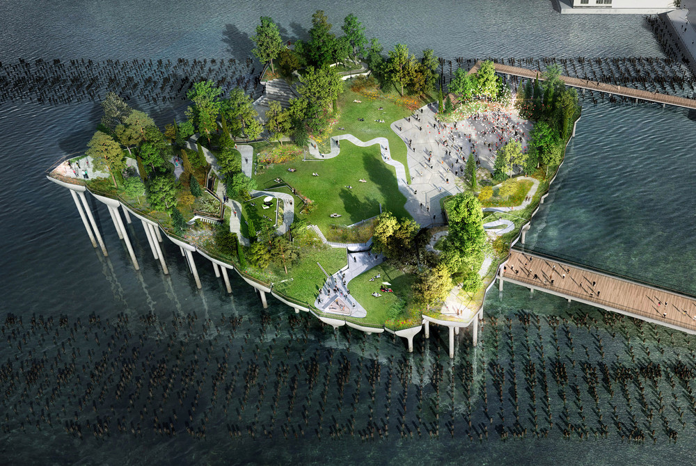 Diller's Island To Begin Construction This Summer