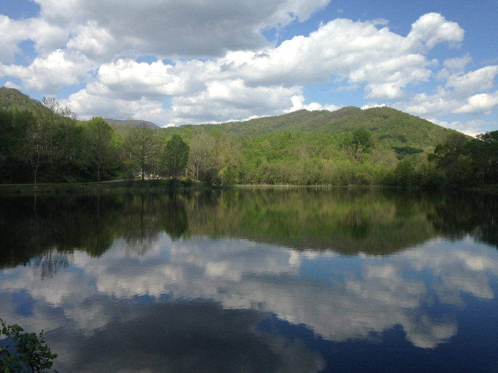 Lake Owen, Swannanoa, one of my favorite places to walk