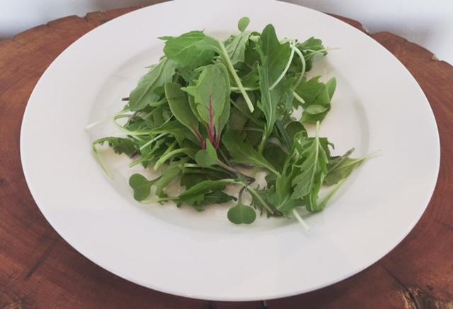 York Town Organics micro salad