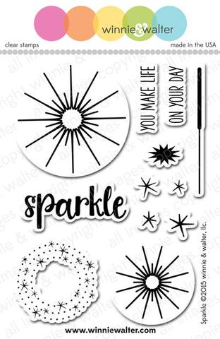 w&w - Sparkle - clear stamp