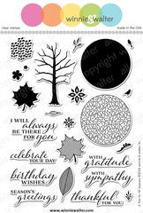 w&w - A Tree for All Seasons - clear stamp