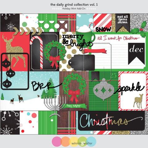 w&w - The Daily Grind Collection Vol. 1: Holiday Mint Add-On Digital Elements