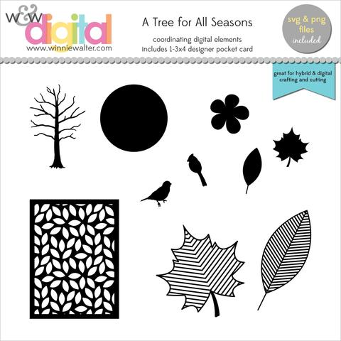 w&w - A Tree for All Seasons Digital Elements