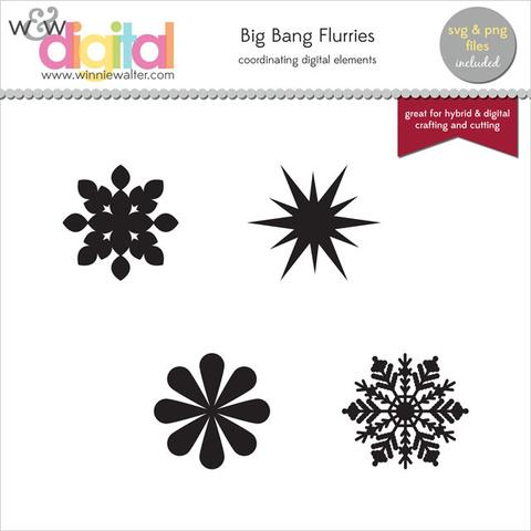 w&w - Scenery: Big Bang Flurries Digital Elements