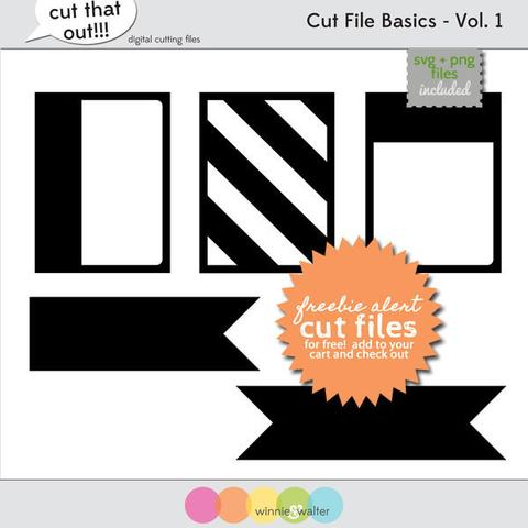 w&w - Cut File Basics Vol. 1 Digital Elements