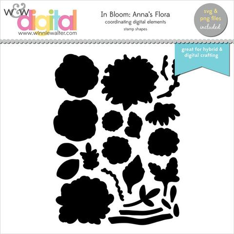w&w - In Bloom: Anna's Flora Digital Elements