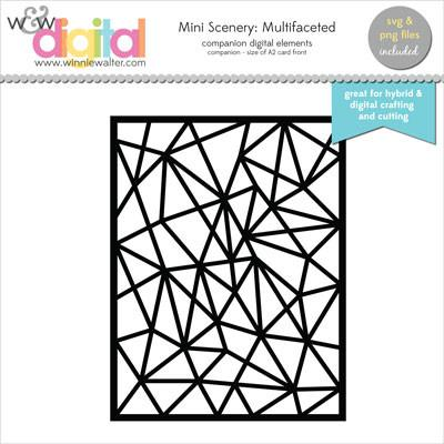w&w - Mini Scenery: Multifaceted Digital Elements