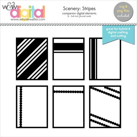 w&w - Scenery: Stripes Digital Elements
