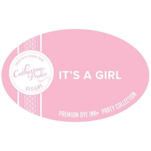 It's A Girl Ink Pad and Refill