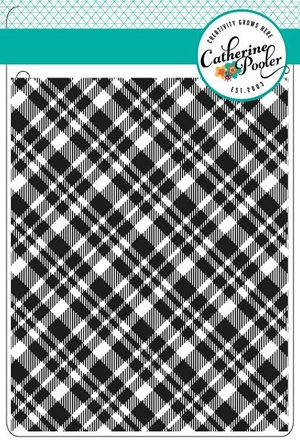 Plaid Background Stamp
