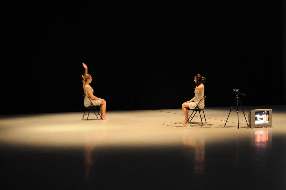 live feed and choreography by abigayle, danced by abigayle and caitlin canty. 2015