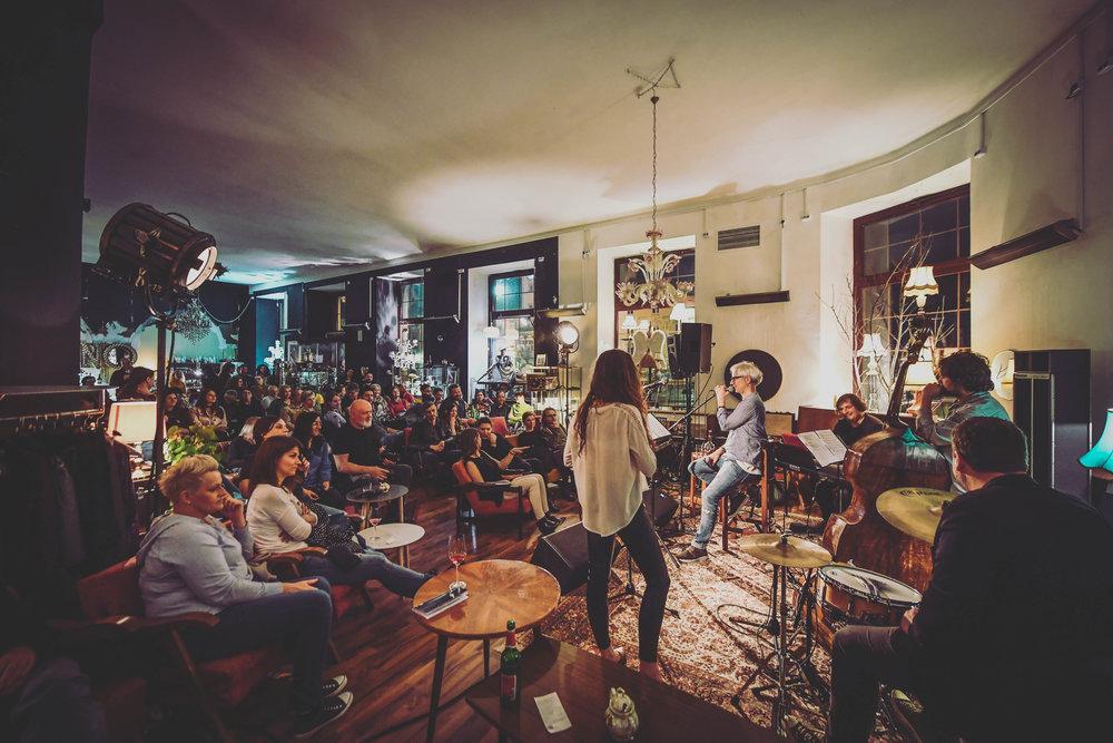 Zaključni koncert festivala s skupino  Simpatico / foto: Marko Pigac