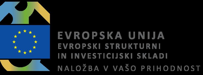 - Naložbo sofinancirata Republika Slovenija in Evropska unija iz Evropskega socialnega sklada.
