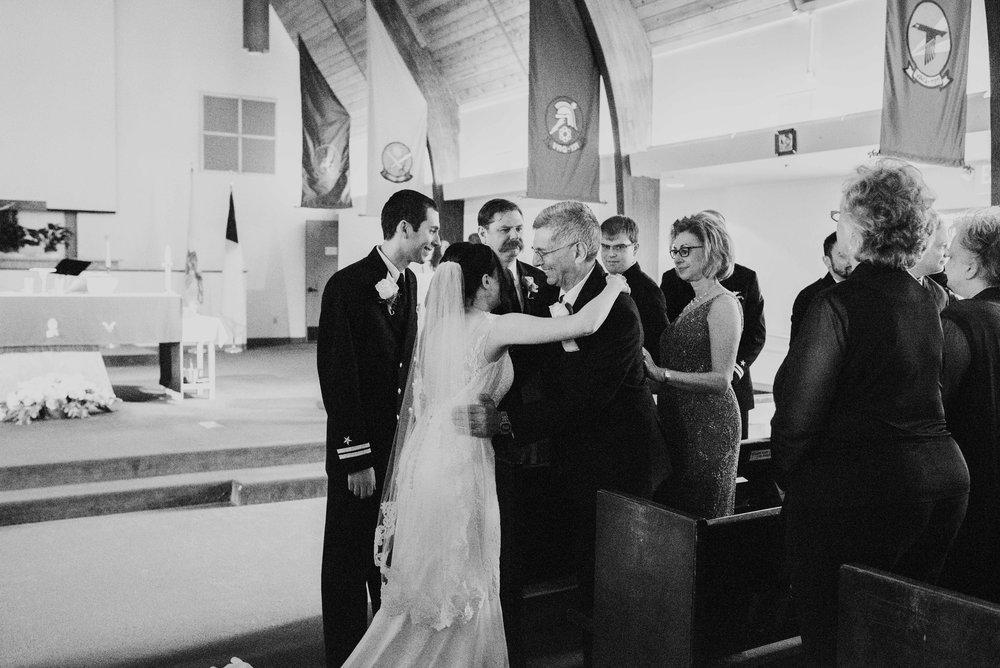 NAS whidbey island wedding